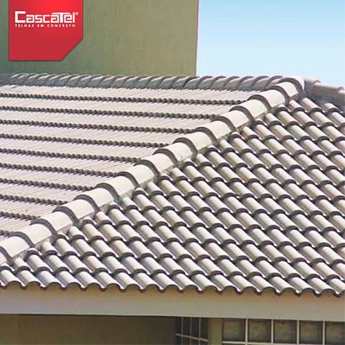 Fabrica de telhas plana
